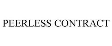 PEERLESS CONTRACT