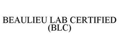 BEAULIEU LAB CERTIFIED (BLC)