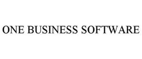 ONE BUSINESS SOFTWARE