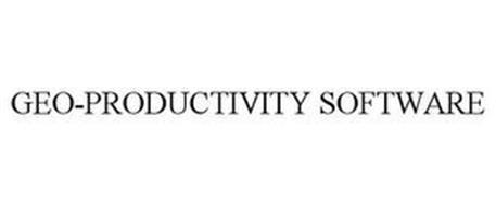 GEO-PRODUCTIVITY SOFTWARE