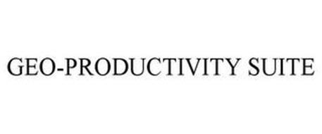 GEO-PRODUCTIVITY SUITE
