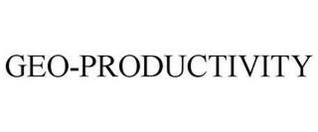 GEO-PRODUCTIVITY