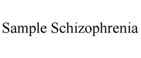 SAMPLE SCHIZOPHRENIA