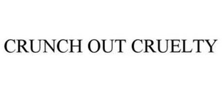 CRUNCH OUT CRUELTY