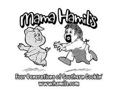 MAMA HAMIL'S FOUR GENERATIONS OF SOUTHERN COOKIN' WWW.HAMILS.COM