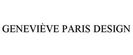 GENEVIÈVE PARIS DESIGN