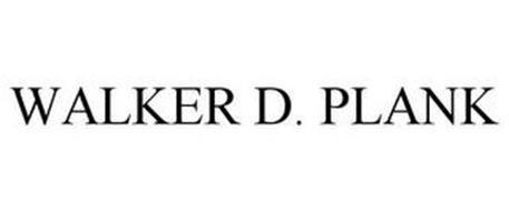 WALKER D. PLANK