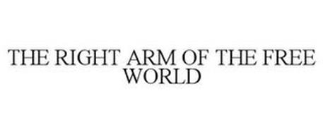THE RIGHT ARM OF THE FREE WORLD