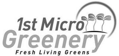 1ST MICRO GREENERY FRESH LIVING GREENS