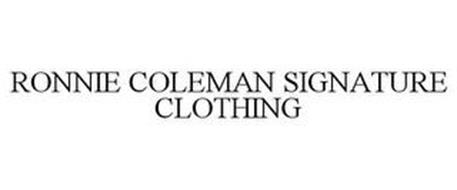 RONNIE COLEMAN SIGNATURE CLOTHING