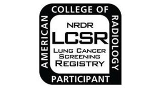NRDR LCSR LUNG CANCER SCREENING REGISTRY AMERICAN COLLEGE OF RADIOLOGY PARTICIPANT