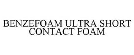 BENZEFOAM ULTRA SHORT CONTACT FOAM