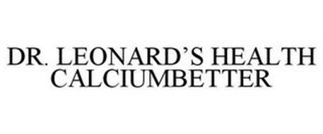 DR. LEONARD'S HEALTH CALCIUMBETTER