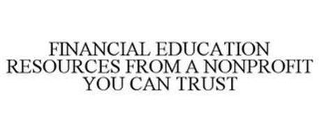FINANCIAL EDUCATION RESOURCES FROM A NONPROFIT YOU CAN TRUST