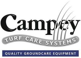 CAMPEY TURF CARE SYSTEMS QUALITY GROUNDSCARE EQUIPMENT