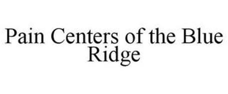 PAIN CENTERS OF THE BLUE RIDGE
