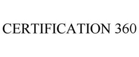 CERTIFICATION 360