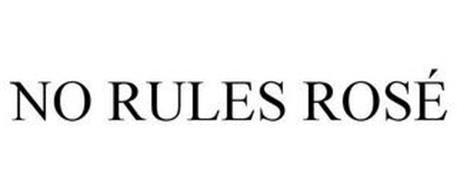 NO RULES ROSÉ