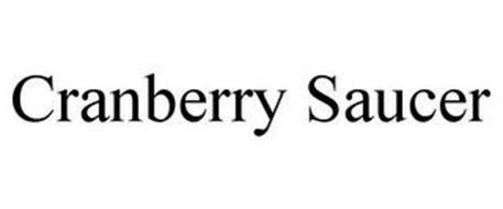 CRANBERRY SAUCER