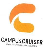 C CAMPUS CRUISER ADVANCED TECHNOLOGY, SIMPLE SOLUTIONS