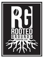 RG ROOTED GROUNDS COFFEE CO.