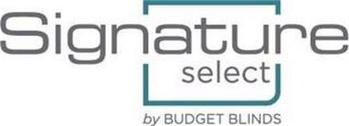 SIGNATURE SELECT BY BUDGET BLINDS