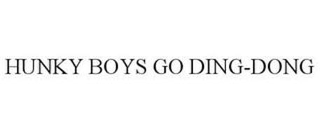 HUNKY BOYS GO DING-DONG