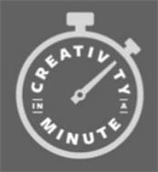 CREATIVITY IN A MINUTE
