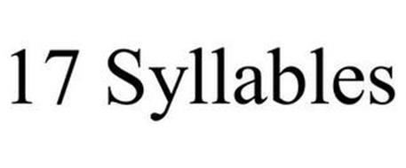 17 SYLLABLES