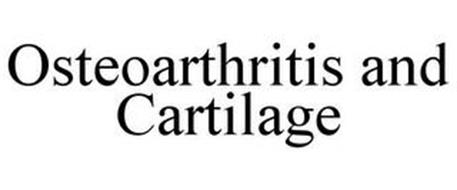 OSTEOARTHRITIS AND CARTILAGE