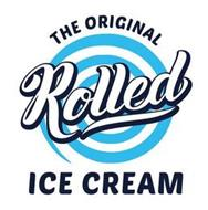 THE ORIGINAL ROLLED ICE CREAM