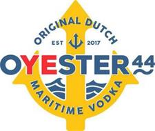 ORIGINAL DUTCH EST 2017 OYESTER 44 MARITIME VODKA
