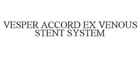VESPER ACCORD EX VENOUS STENT SYSTEM