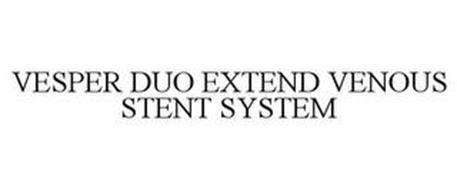 VESPER DUO EXTEND VENOUS STENT SYSTEM
