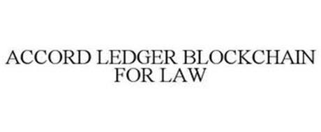 ACCORD LEDGER BLOCKCHAIN FOR LAW