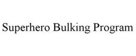 SUPERHERO BULKING PROGRAM