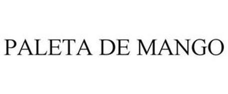 PALETA DE MANGO