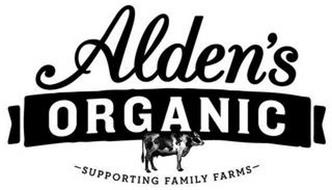 ALDEN'S ORGANIC SUPPORTING FAMILY FARMS