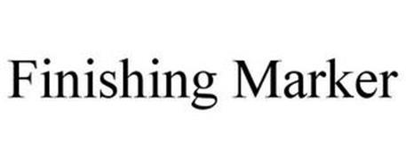 FINISHING MARKER