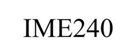 IME240