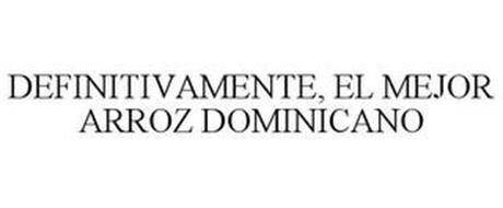 DEFINITIVAMENTE, EL MEJOR ARROZ DOMINICANO