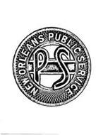 NEW ORLEANS PUBLIC SERVICE PS