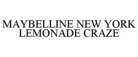 MAYBELLINE NEW YORK LEMONADE CRAZE