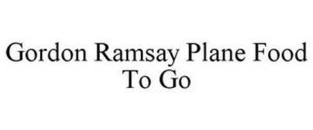 GORDON RAMSAY PLANE FOOD TO GO