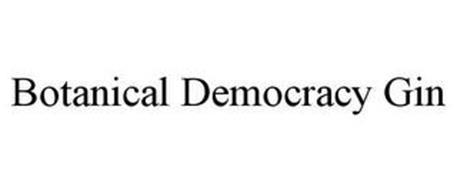 BOTANICAL DEMOCRACY GIN