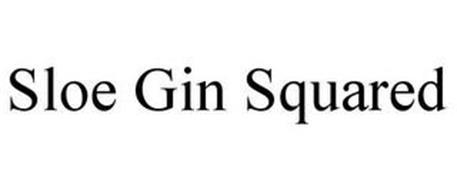 SLOE GIN SQUARED
