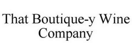 THAT BOUTIQUE-Y WINE COMPANY