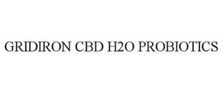 GRIDIRON CBD H2O PROBIOTICS