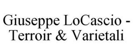 GIUSEPPE LOCASCIO - TERROIR & VARIETALI