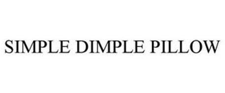 SIMPLE DIMPLE PILLOW